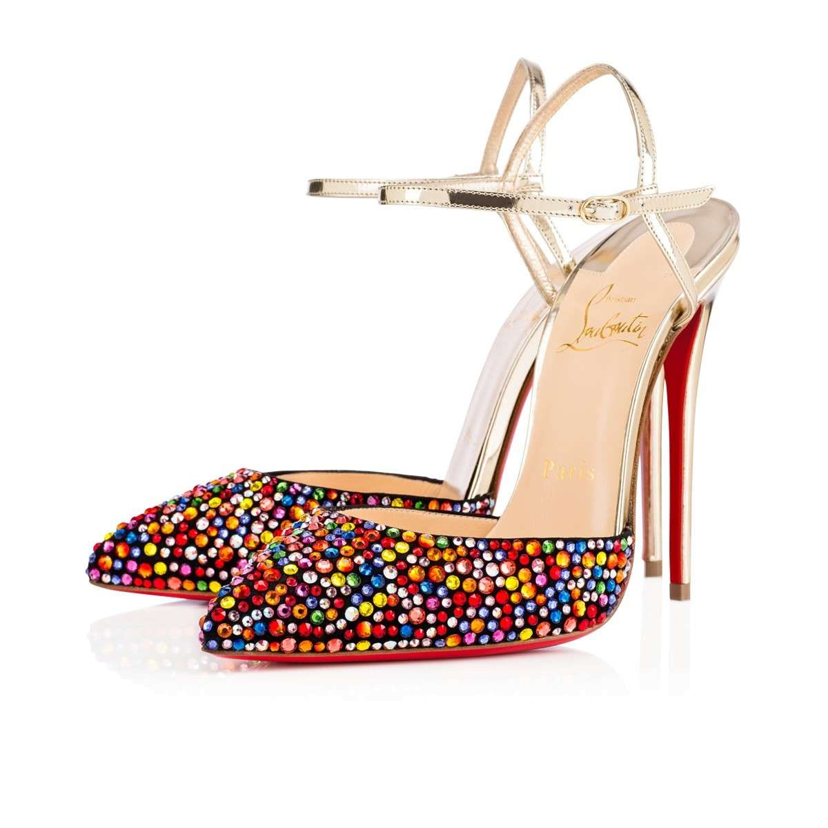 Mary Jane multicolor Christian Louboutin