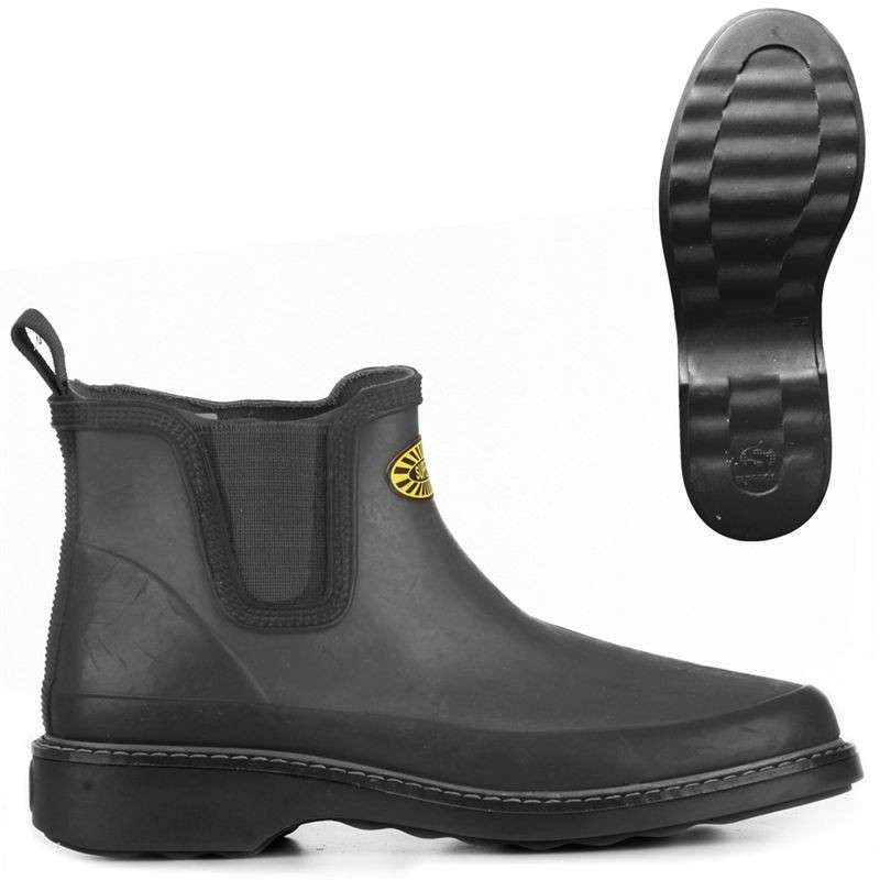 Chelsea boot in gomma