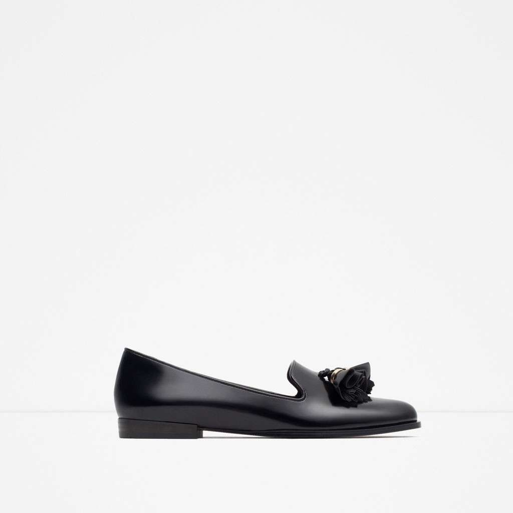 Slippers con nappine Zara