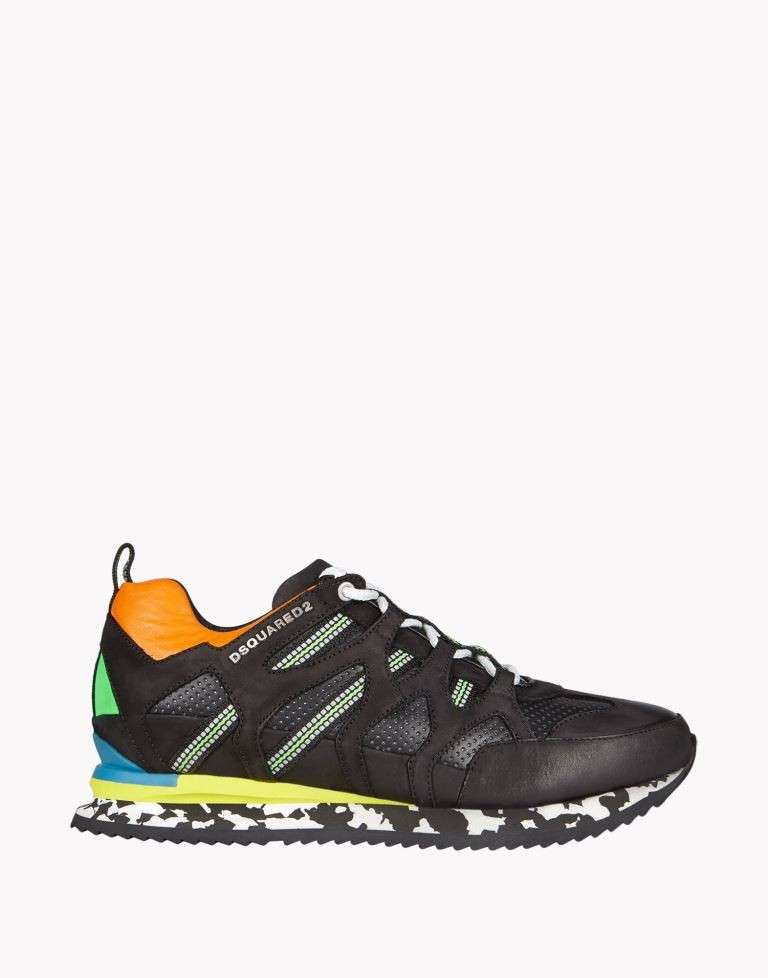 Sneakers in color block Dsquared2