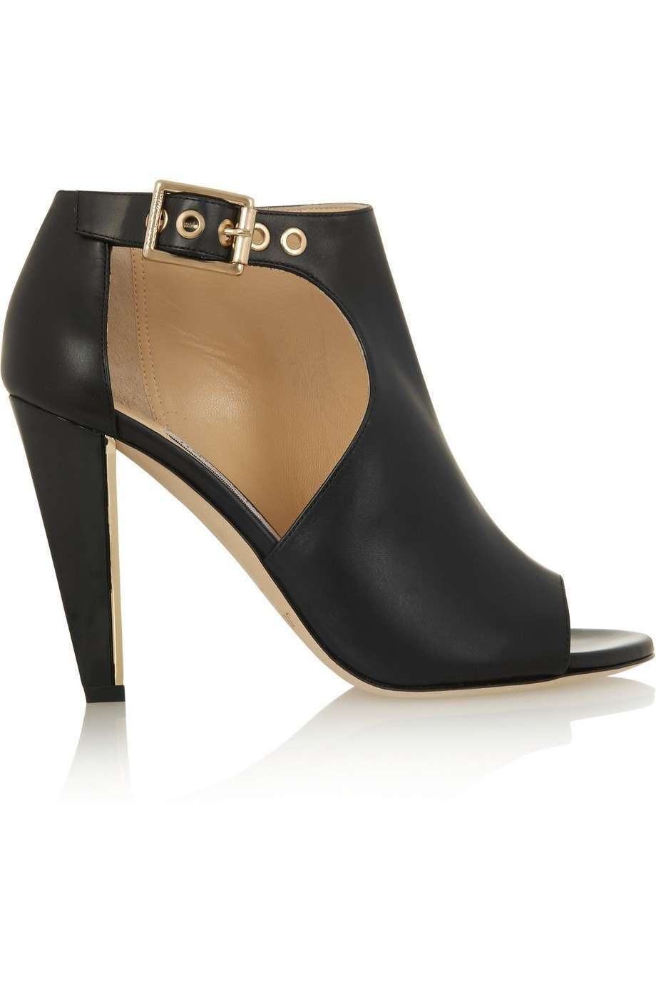 Ankle boots cut out open toe di Jimmy Choo