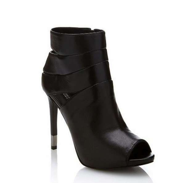 Ankle boots open toe Guess