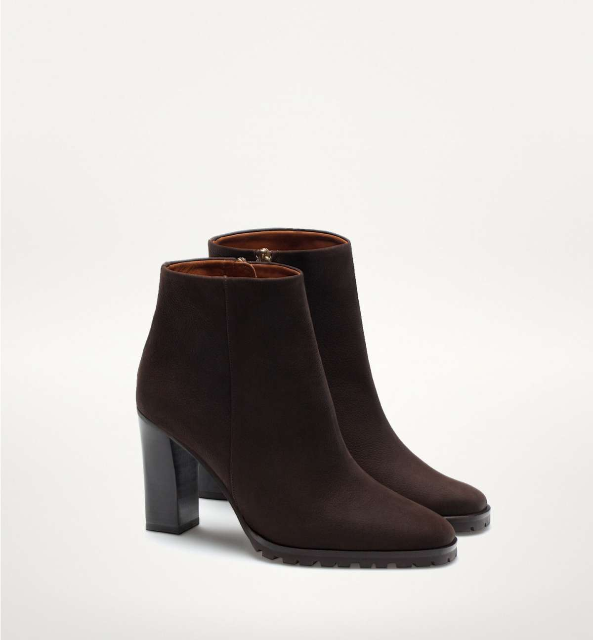 Ankle boot carrarmato