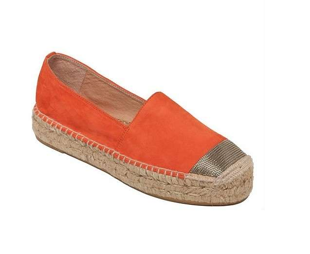 Espadrillas orange Delman