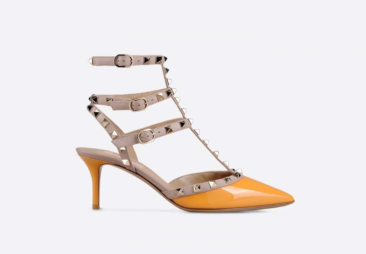 Mary Jane orange Valentino