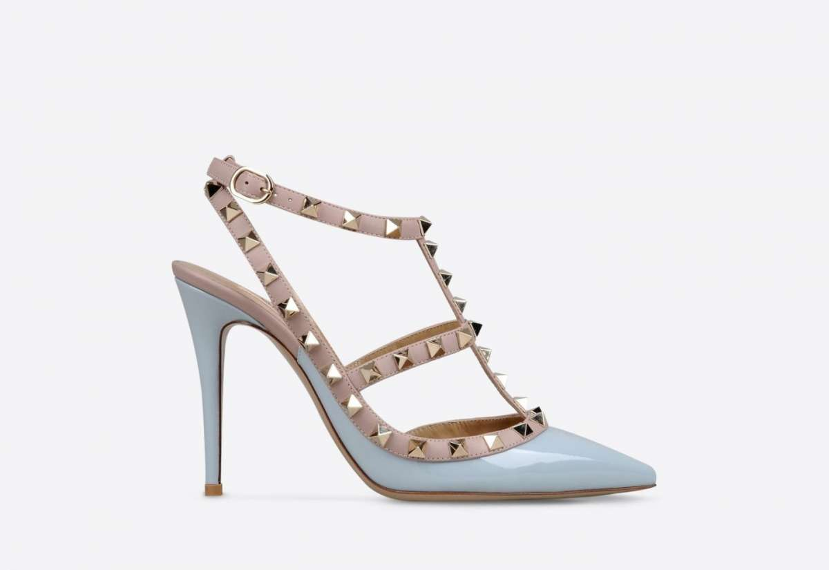 Mary Jane Rockstud turchesi Valentino