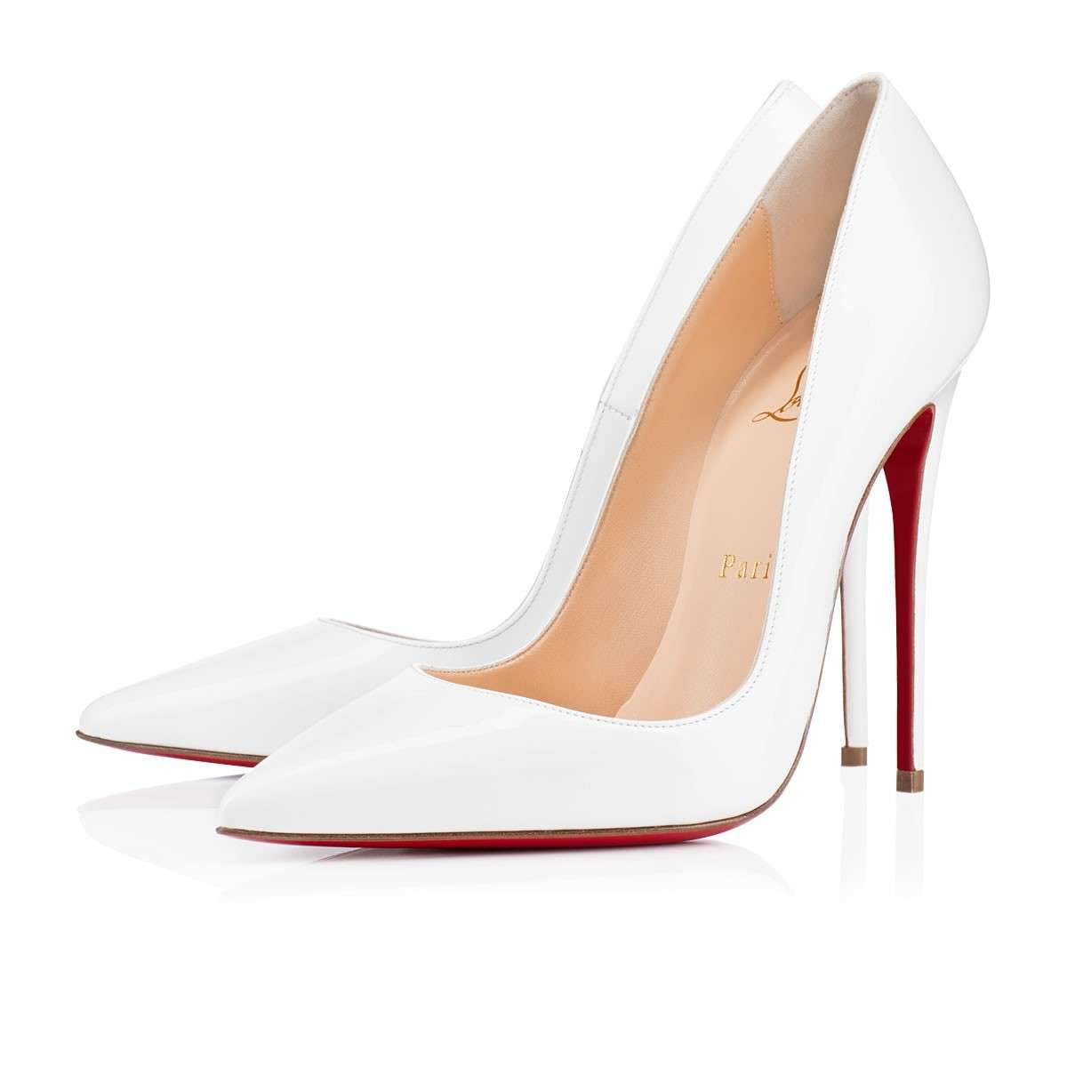 So Kate bianche Christian Louboutin