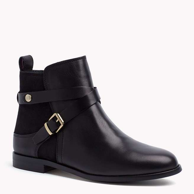 Ankle boot neri in pelle