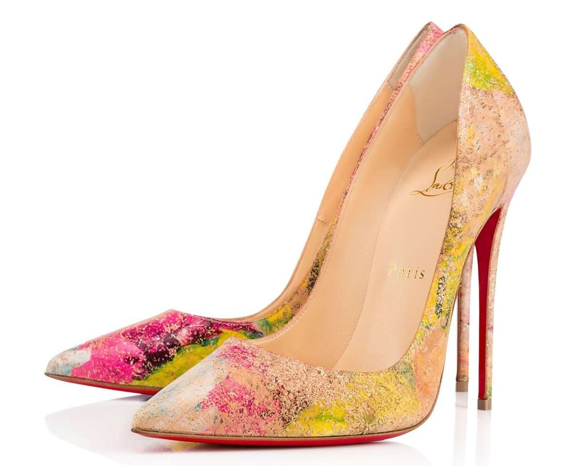 Dècolletès So Kate multicolor Christian Louboutin