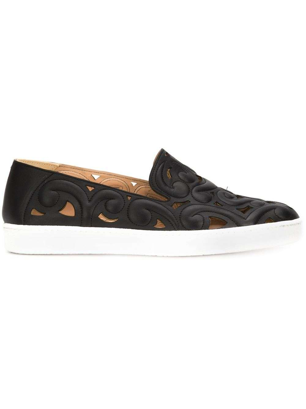 Slip on nere traforate Derek Lam