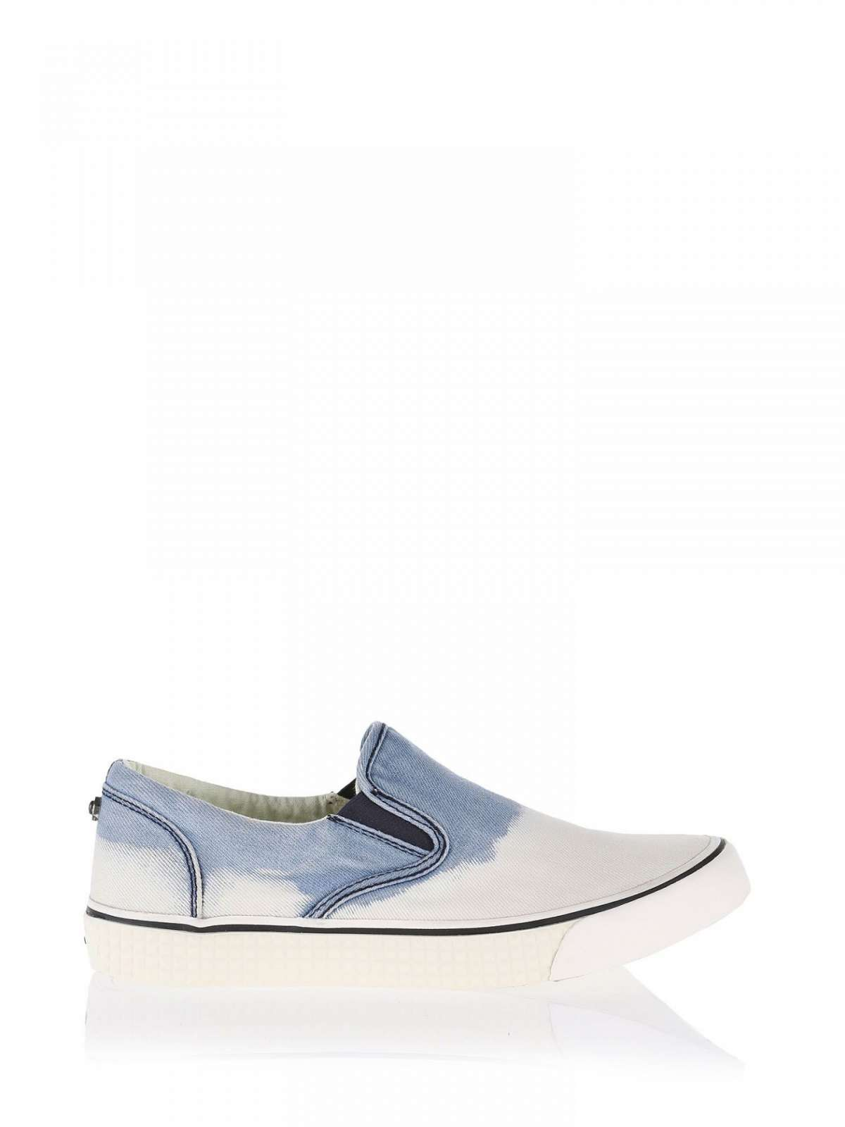 Slip on degradé in denim