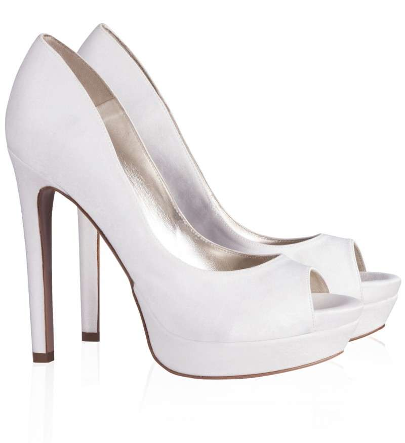 Pumps peep toe Pura Lopez