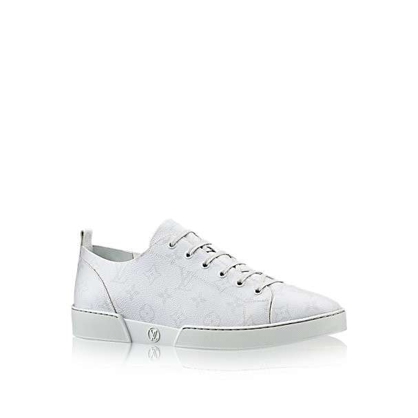 Sneakers bianche con logo