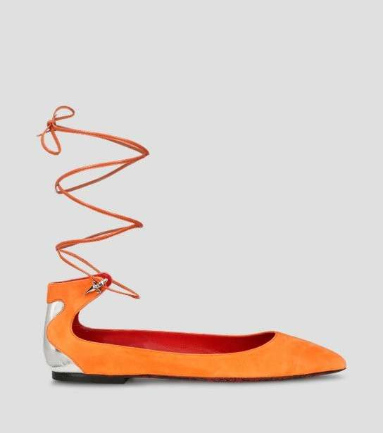 Ballerine lace up Cesare Paciotti