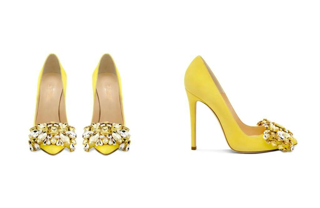 Pumps gialle Gedebe