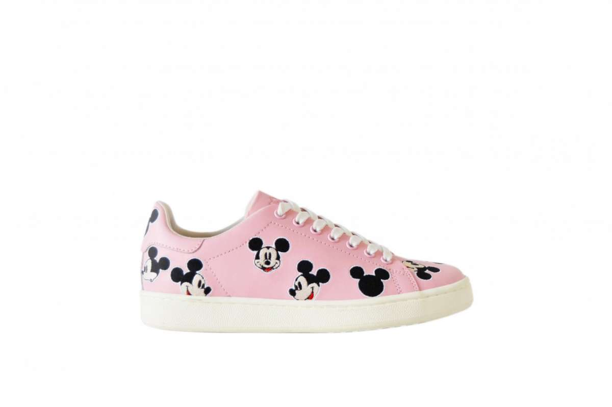 Sneakers con stampa Disney