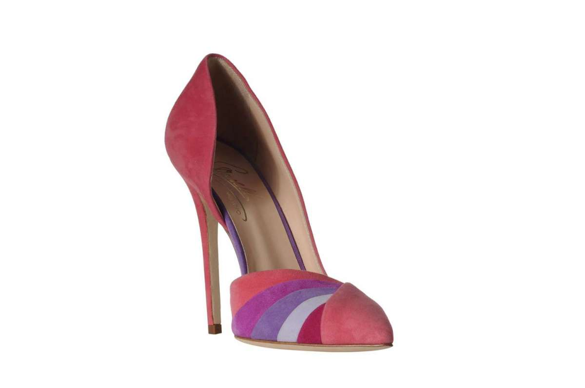 Pumps d'Orsay multicolor Cerasella Milano