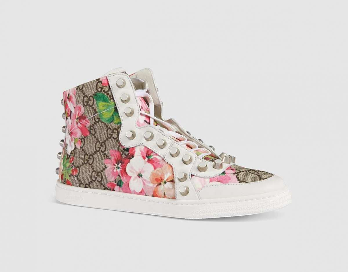 Sneakers Gucci con stampa Blooms