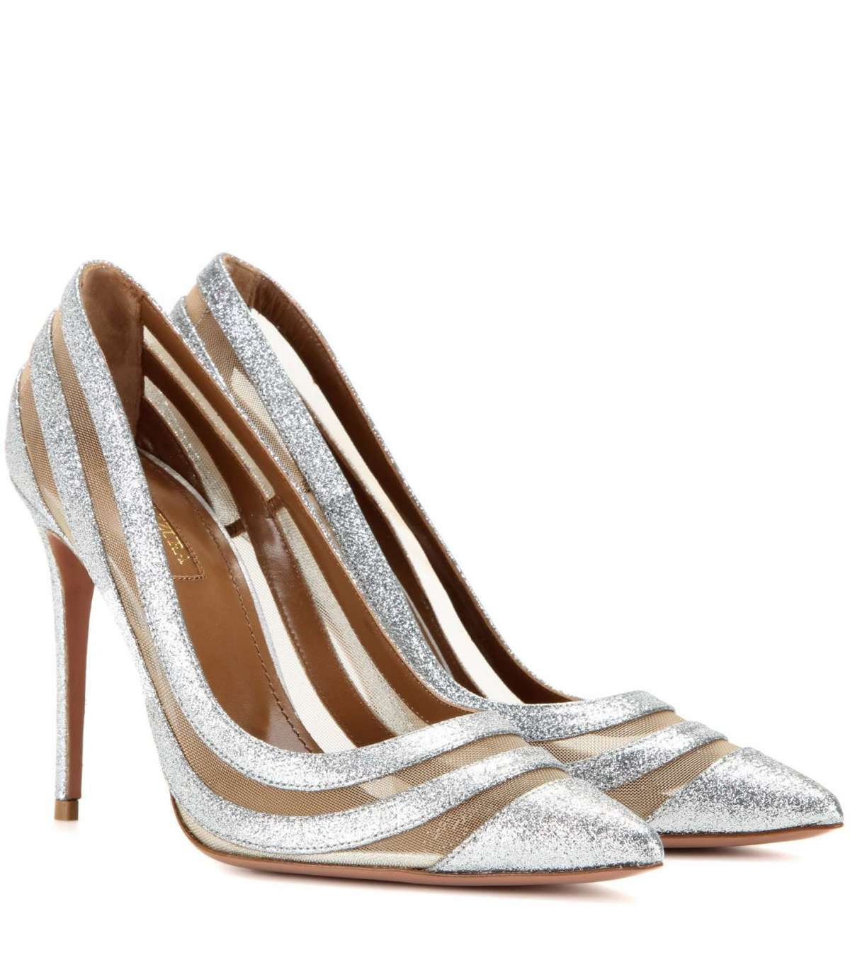 Pumps argento Aquazzura