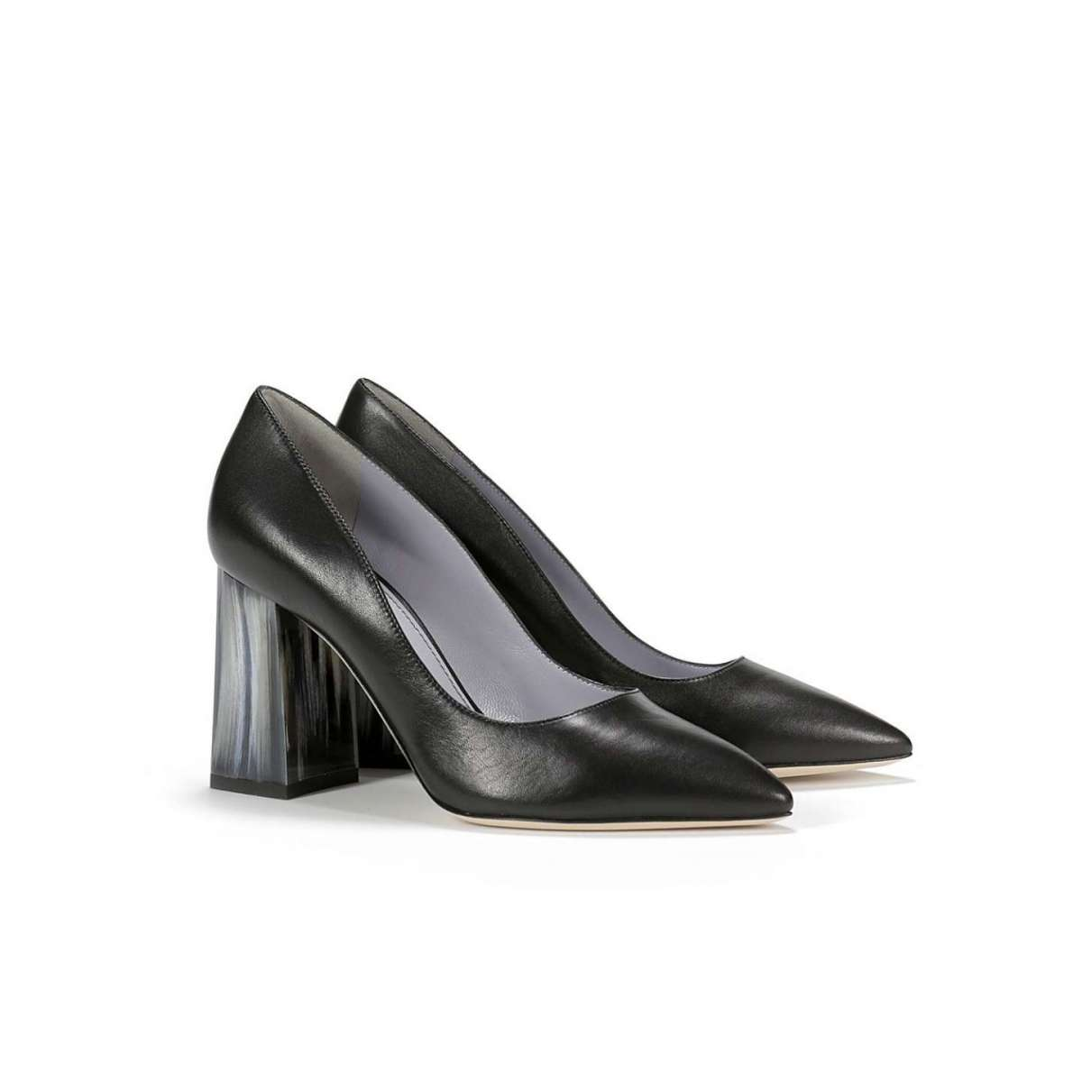 Pumps nere Pollini