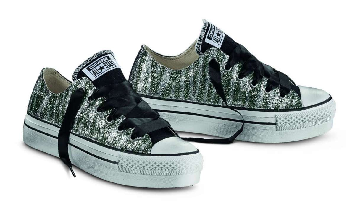 Creepers stampate Converse
