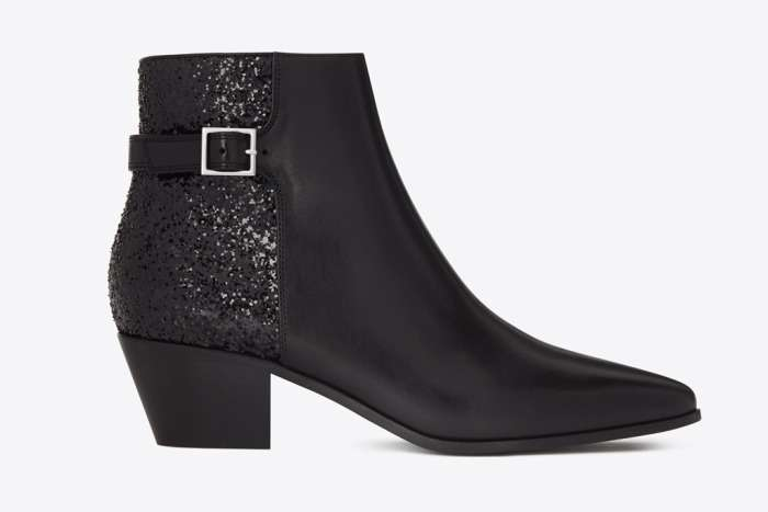 Ankle boot a punta Saint Laurent
