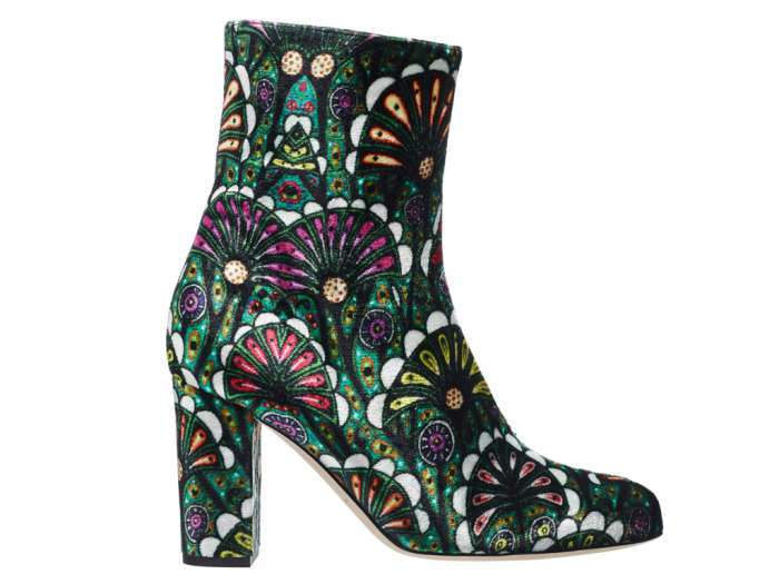 Ankle boot stampati