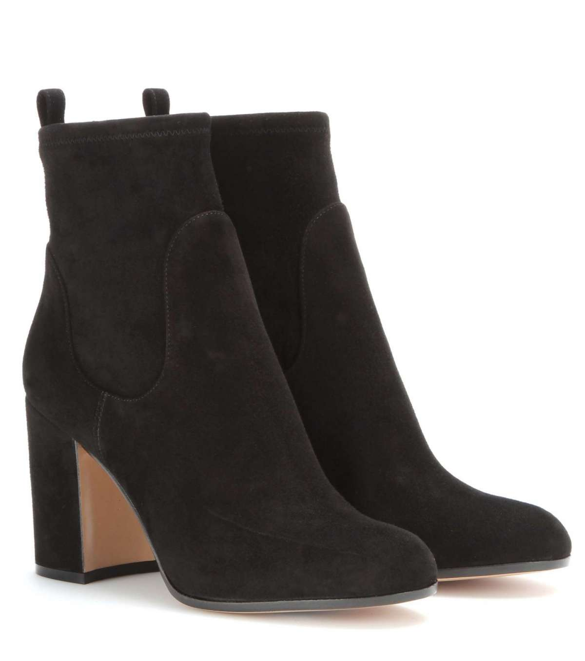 Ankle boot in suede Gianvito Rossi