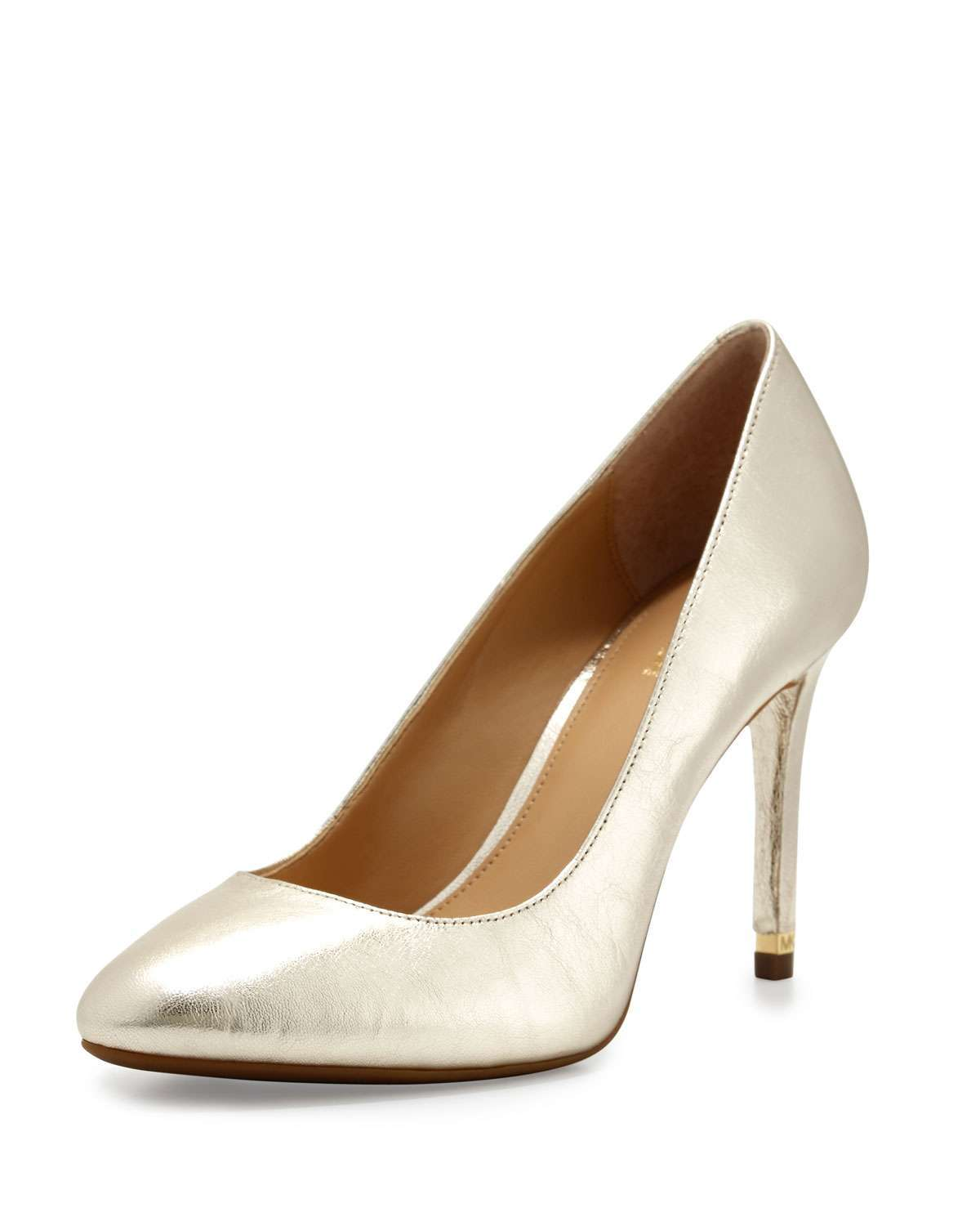 Pumps dorate Michael Kors