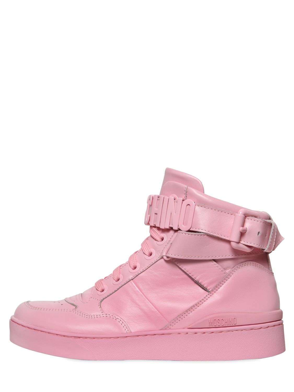 Sneakers alte rosa Moschino