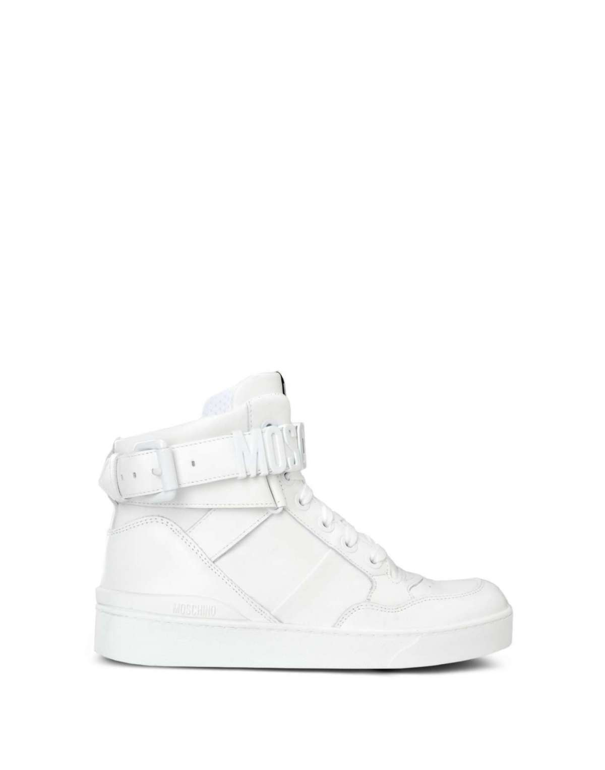 Sneakers bianche Moschino