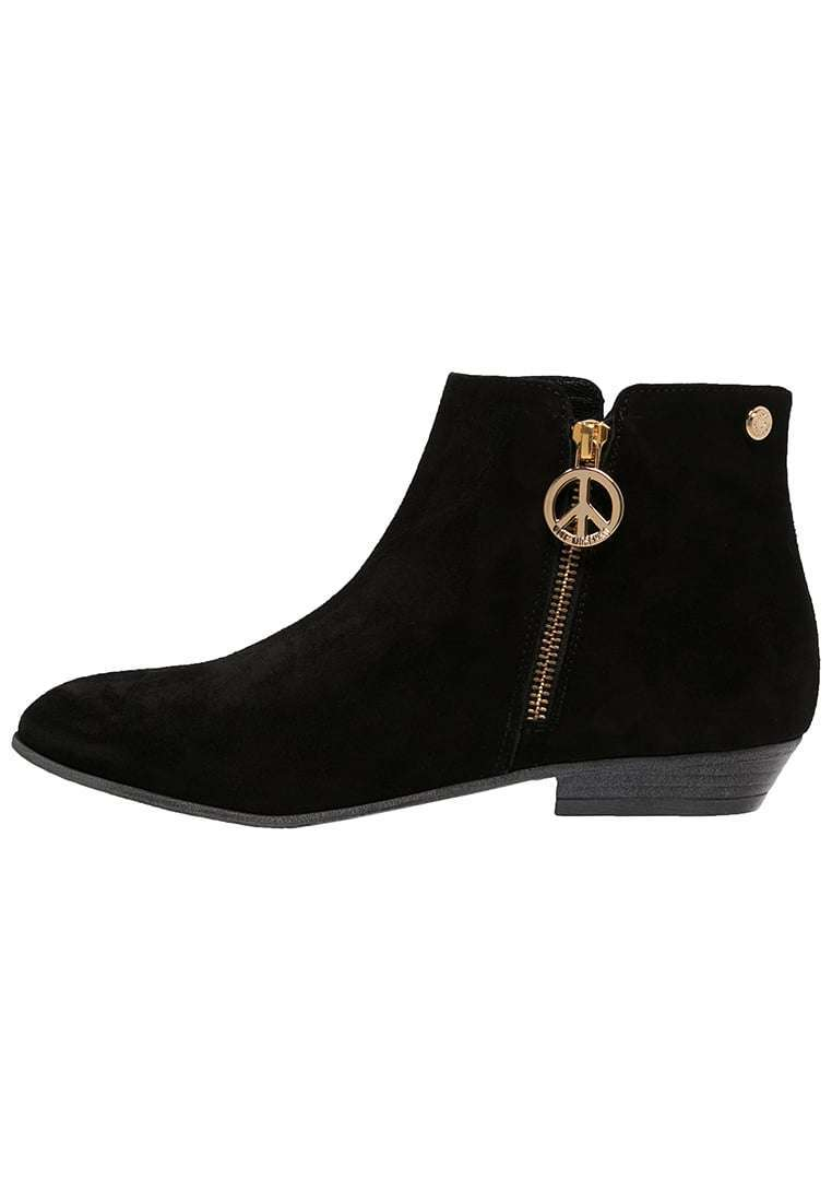 Ankle boot neri in suede