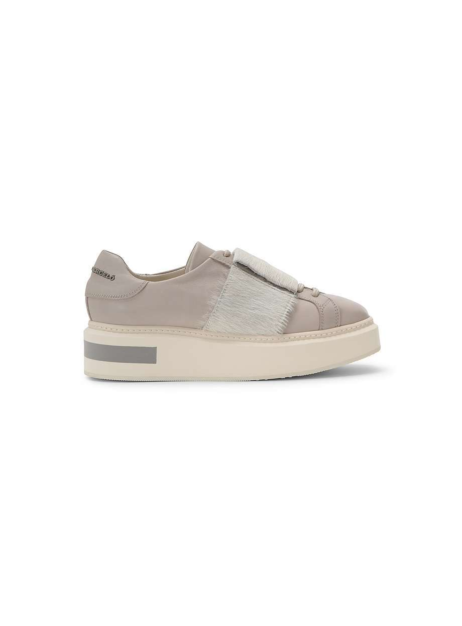 Sneakers taupe alte