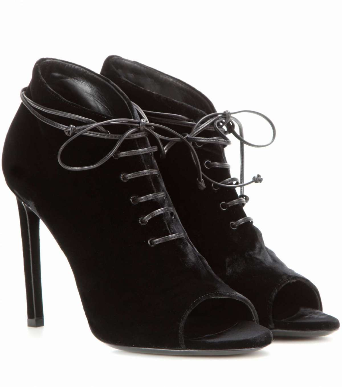 Ankle boot open toe Saint Laurent