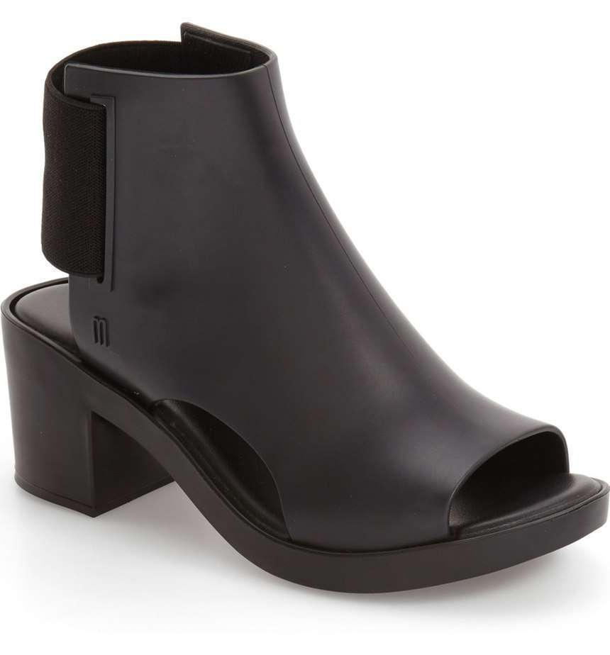 Ankle boot open-toe Melissa