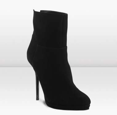 ankle boot suede