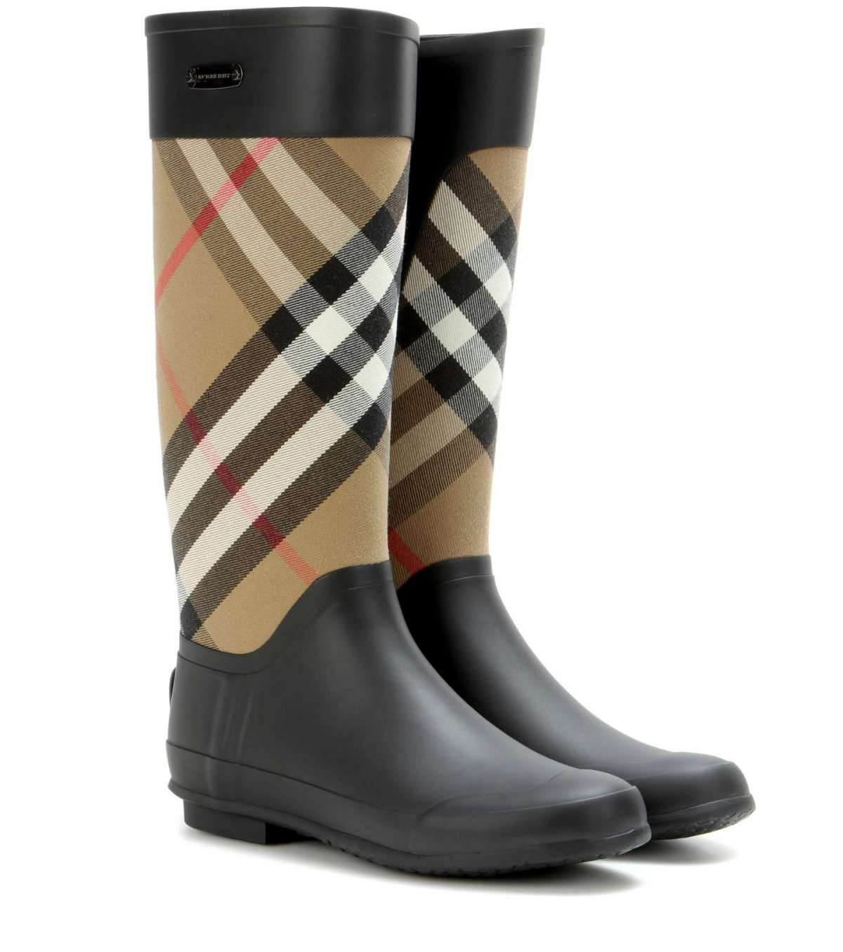 Rain boot Burberry check