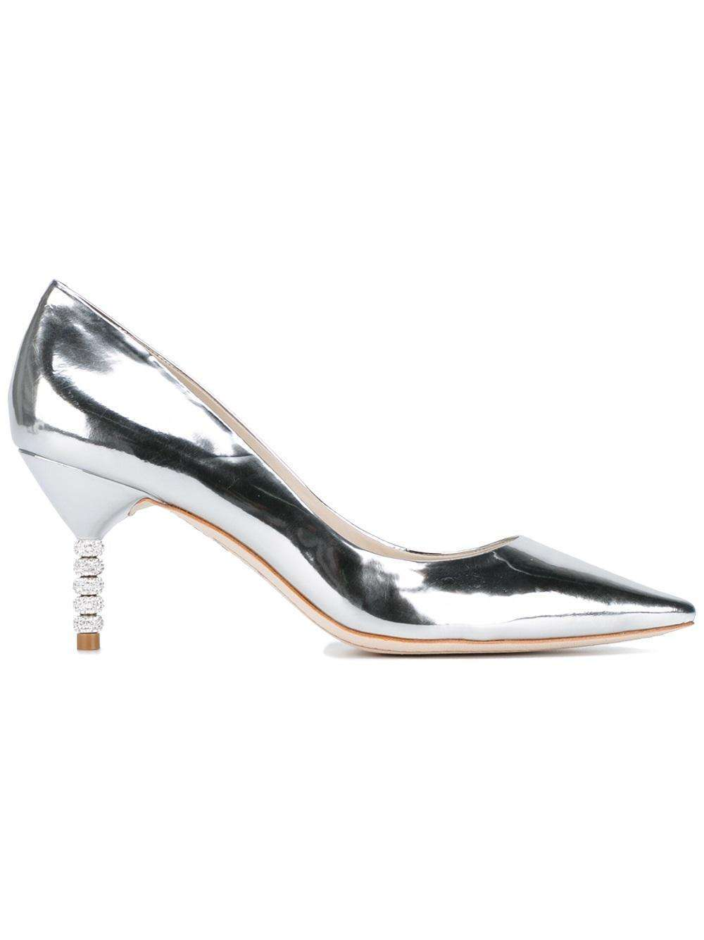 Pumps argento Sophia Webster