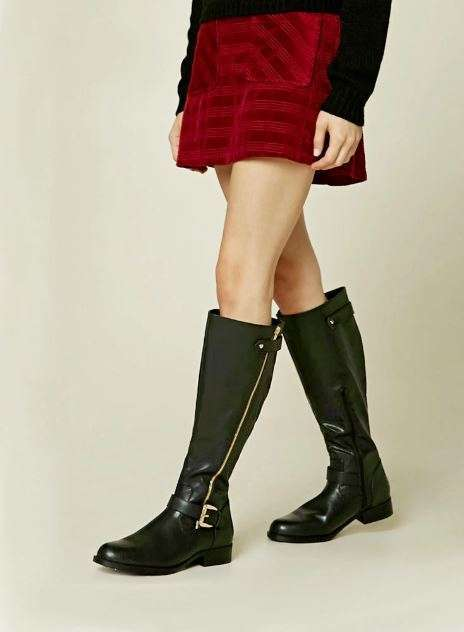 Riding boots neri