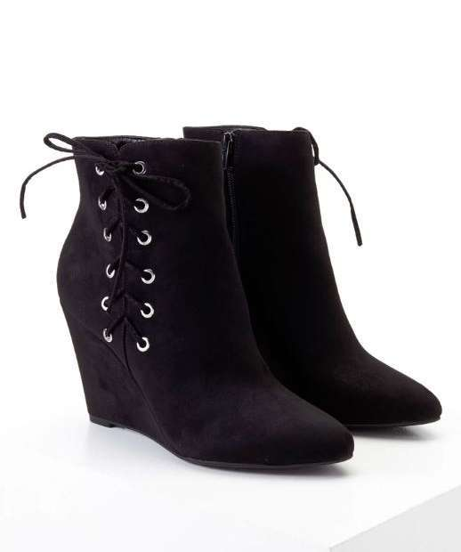 Zeppe in suede Forever 21