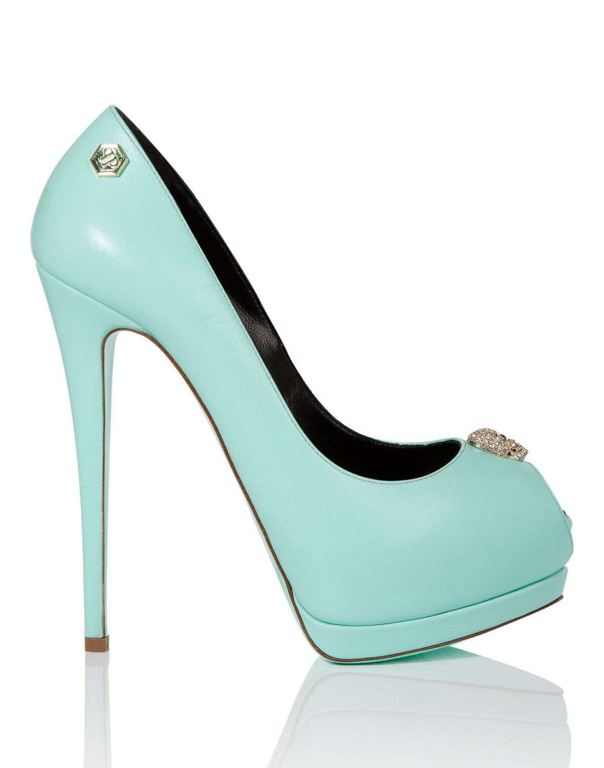 Pumps turchesi Philipp Plein