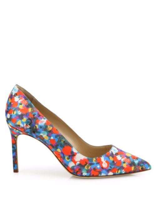 Pumps multicolor Manolo Blahnik