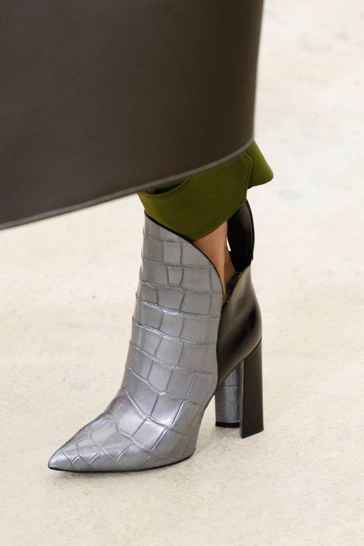 Ankle boot combinati Louis Vuitton