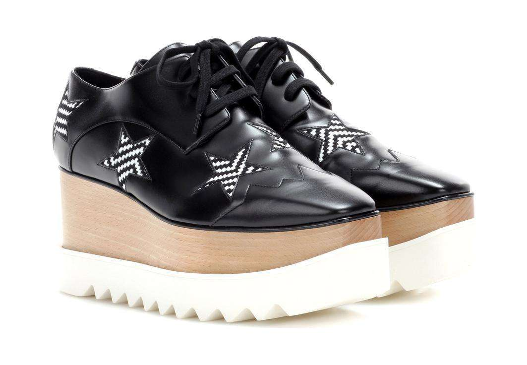 Creepers in pelle nera