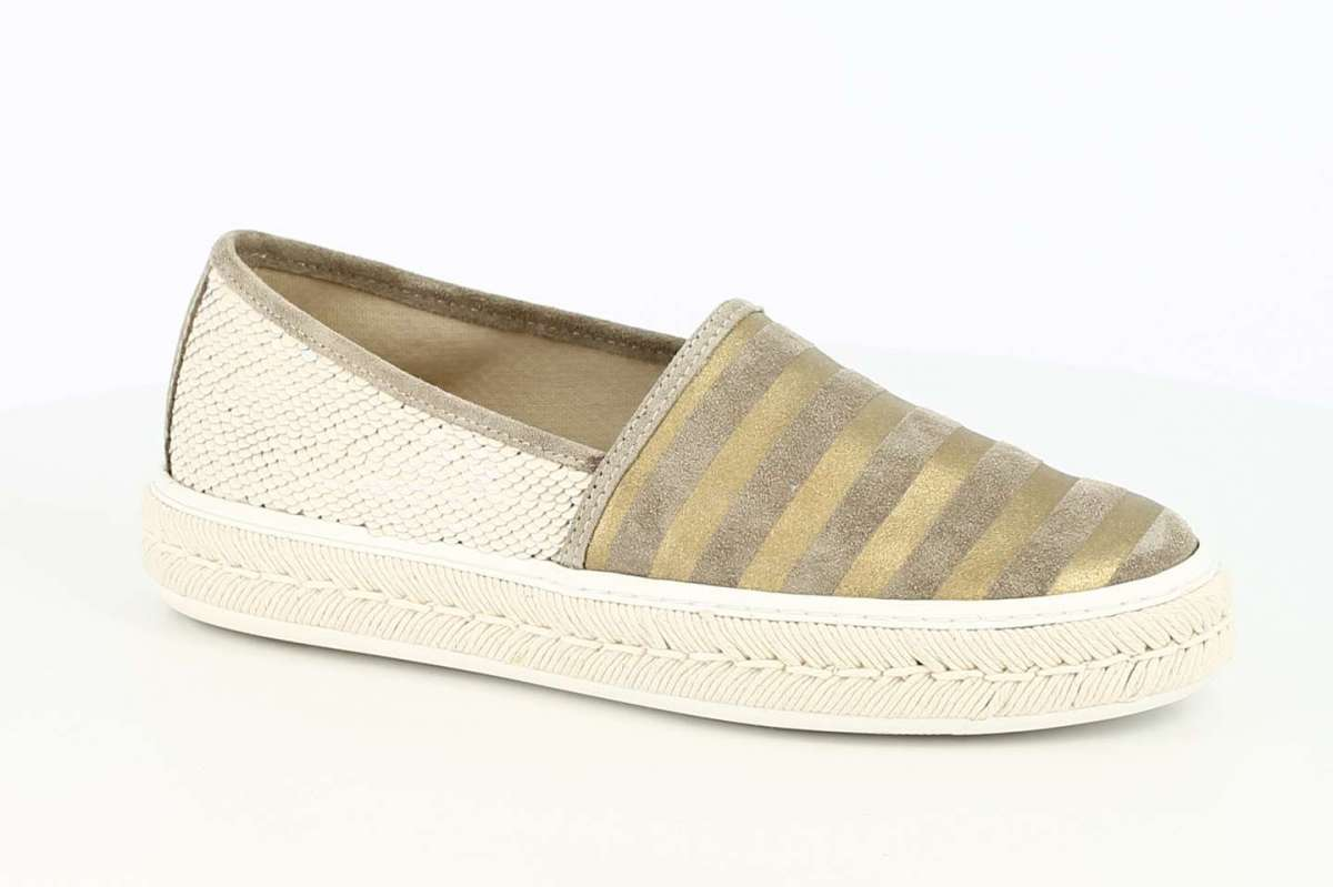 Espadrillas slip on a righe