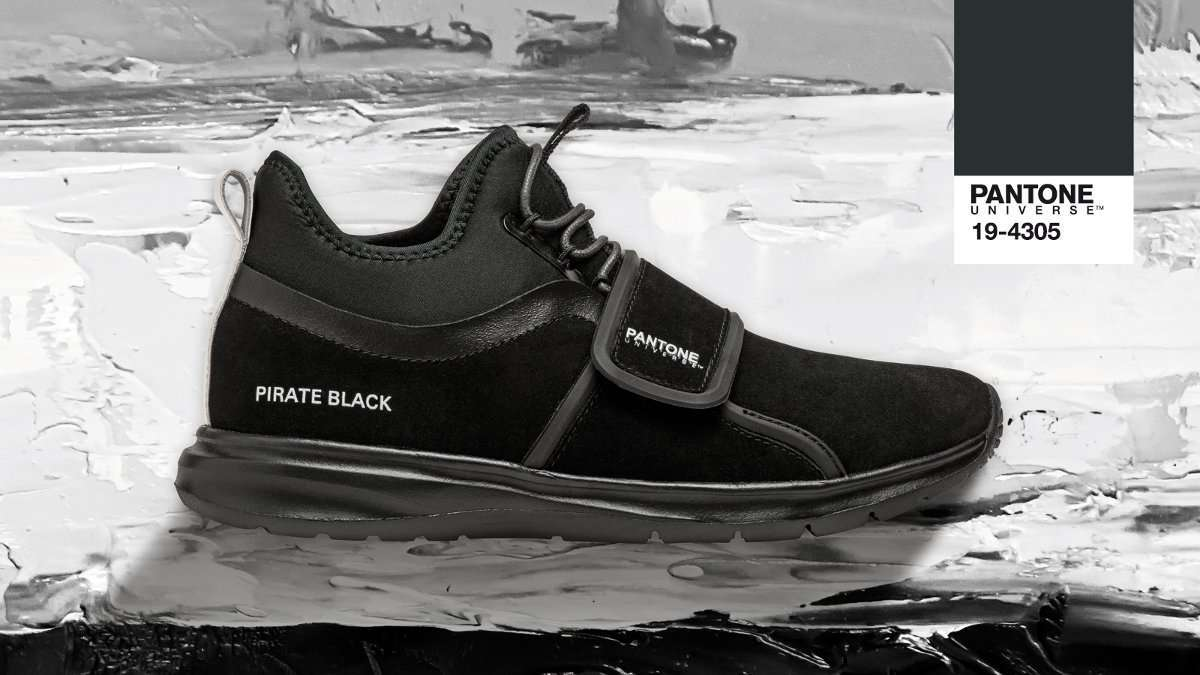 Sneakers nere Pirate Black Pantone