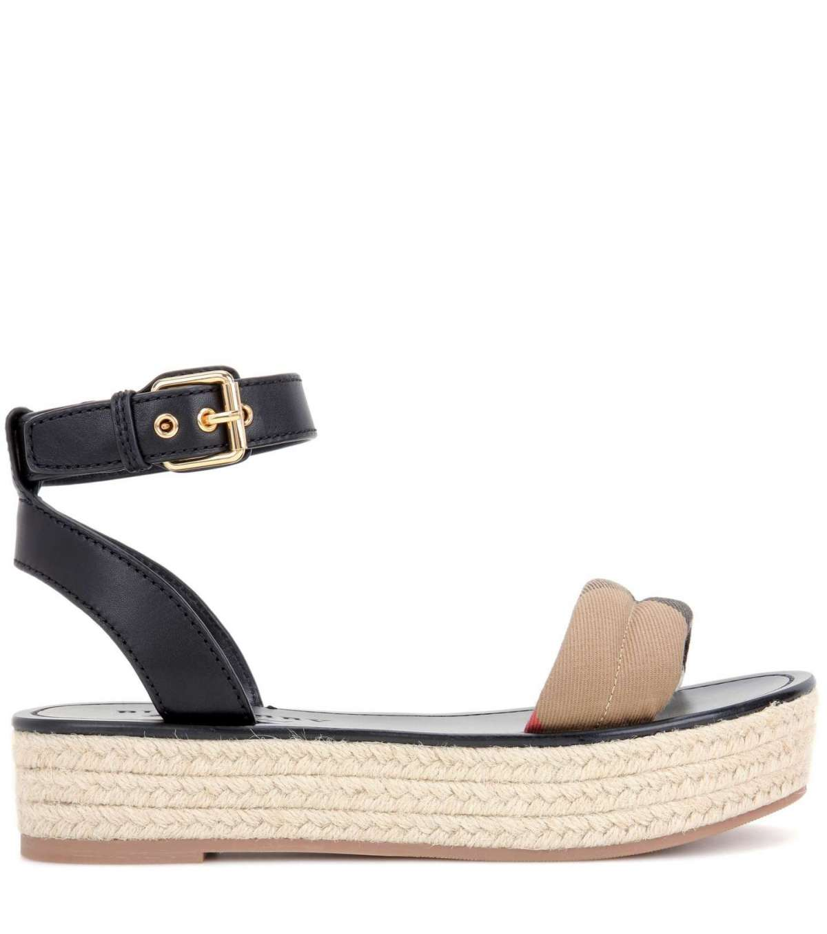 Parkeston Leather Espadrillas Burberry