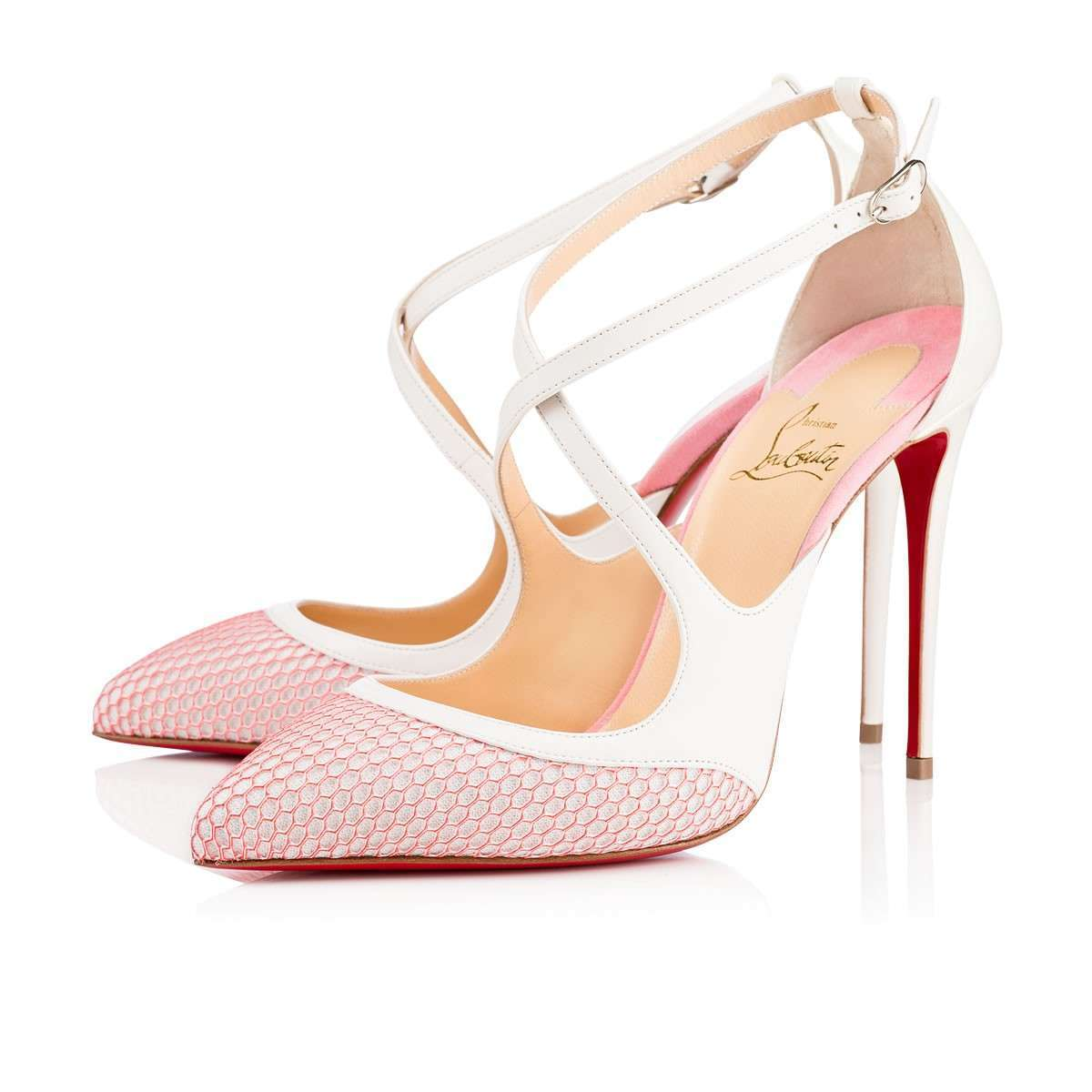 Mary Jane bianche Christian Louboutin