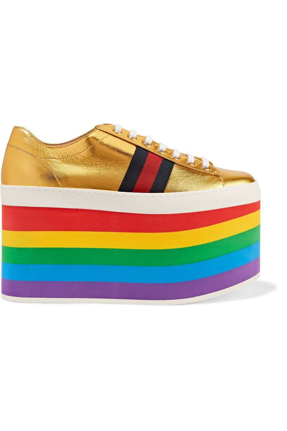 Sneakers platform Gucci