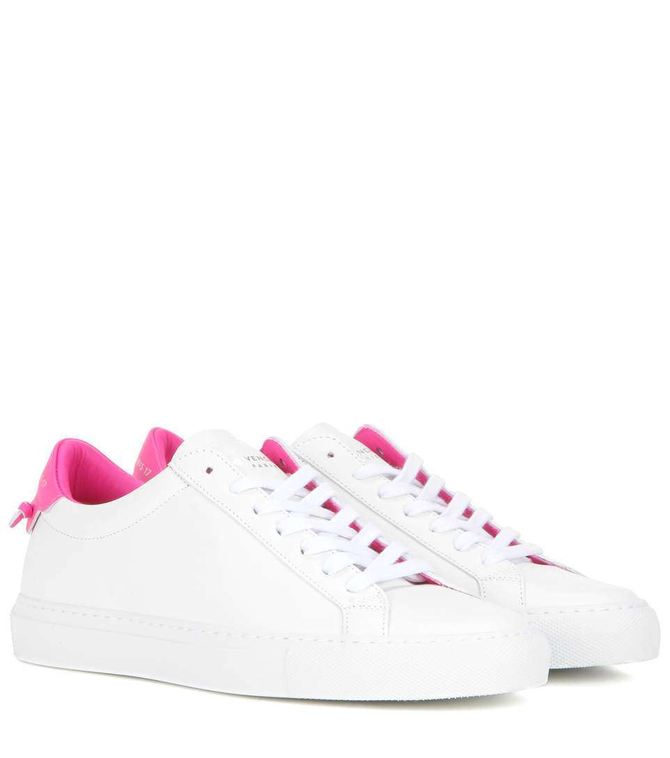 Sneakers bianche e rosa Givenchy